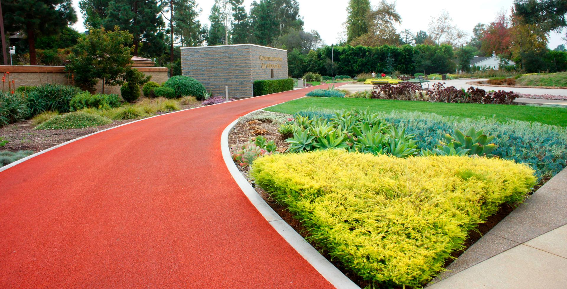 Садовые и парковые дорожки