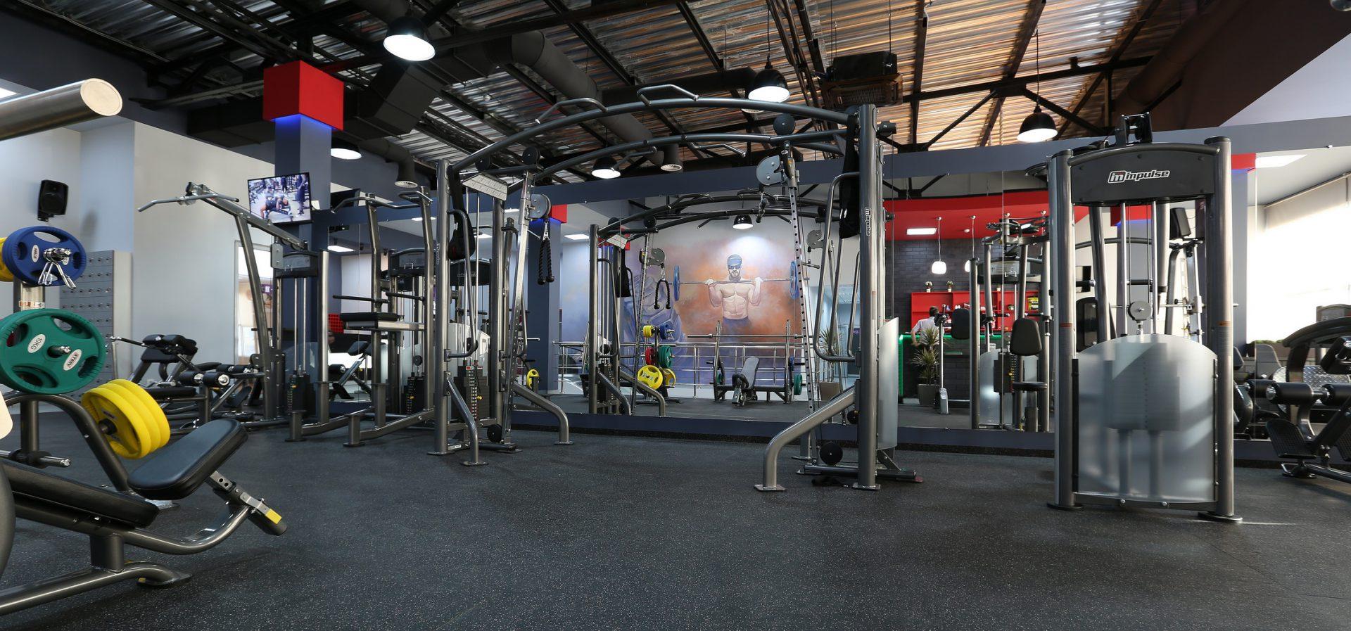 Тренажерный и фитнес залы