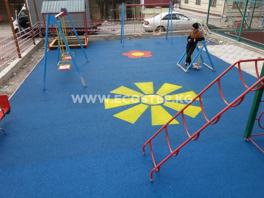 Детская площадка в Мега-Сити 2018 - 3