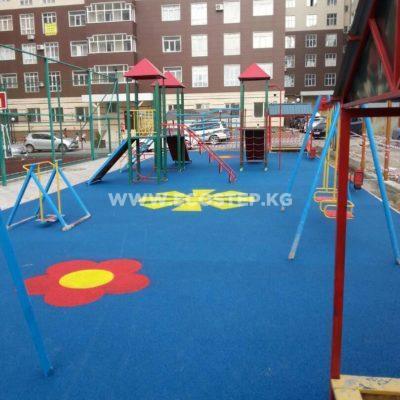 Детская площадка в Мега-Сити 2018