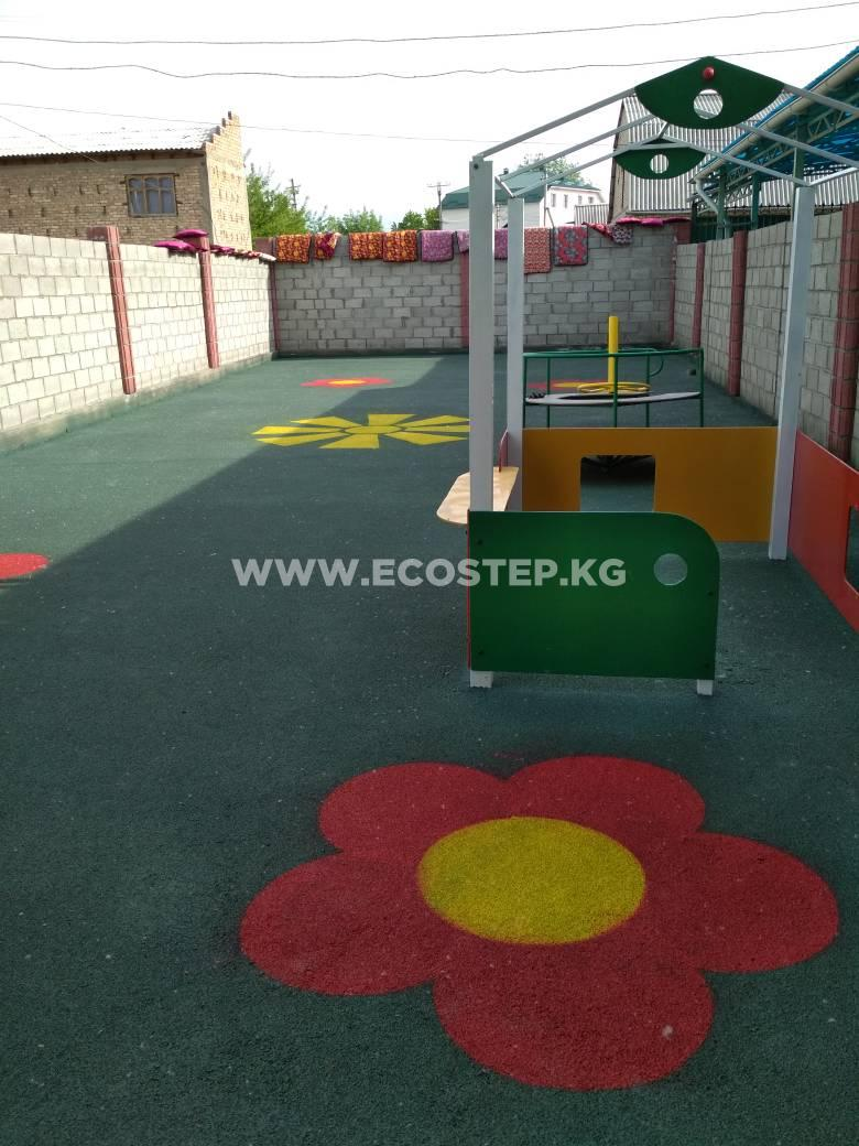 Детская площадка в детском саду «Бал-Кыял»