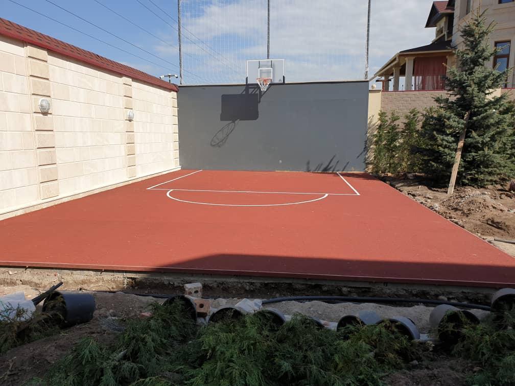 Баскетбольная площадка в г.Бишкек(частный дом) - 1
